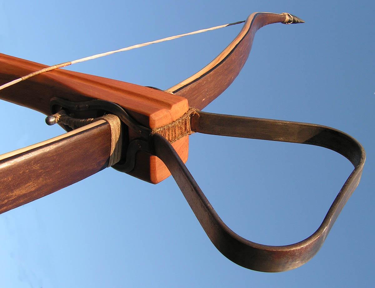 Medieval stirrup crossbow 34